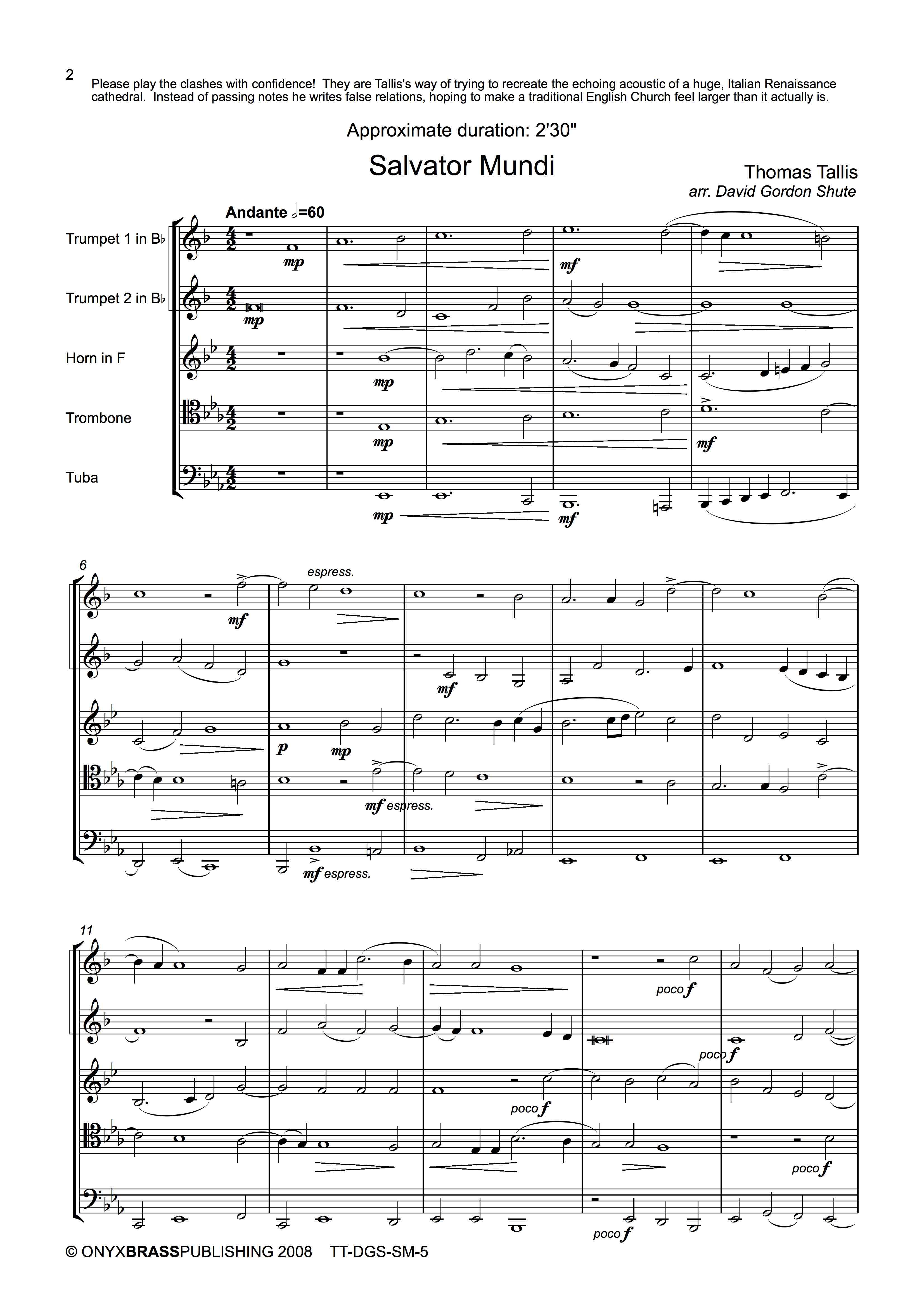 Salvator Mundi - example page