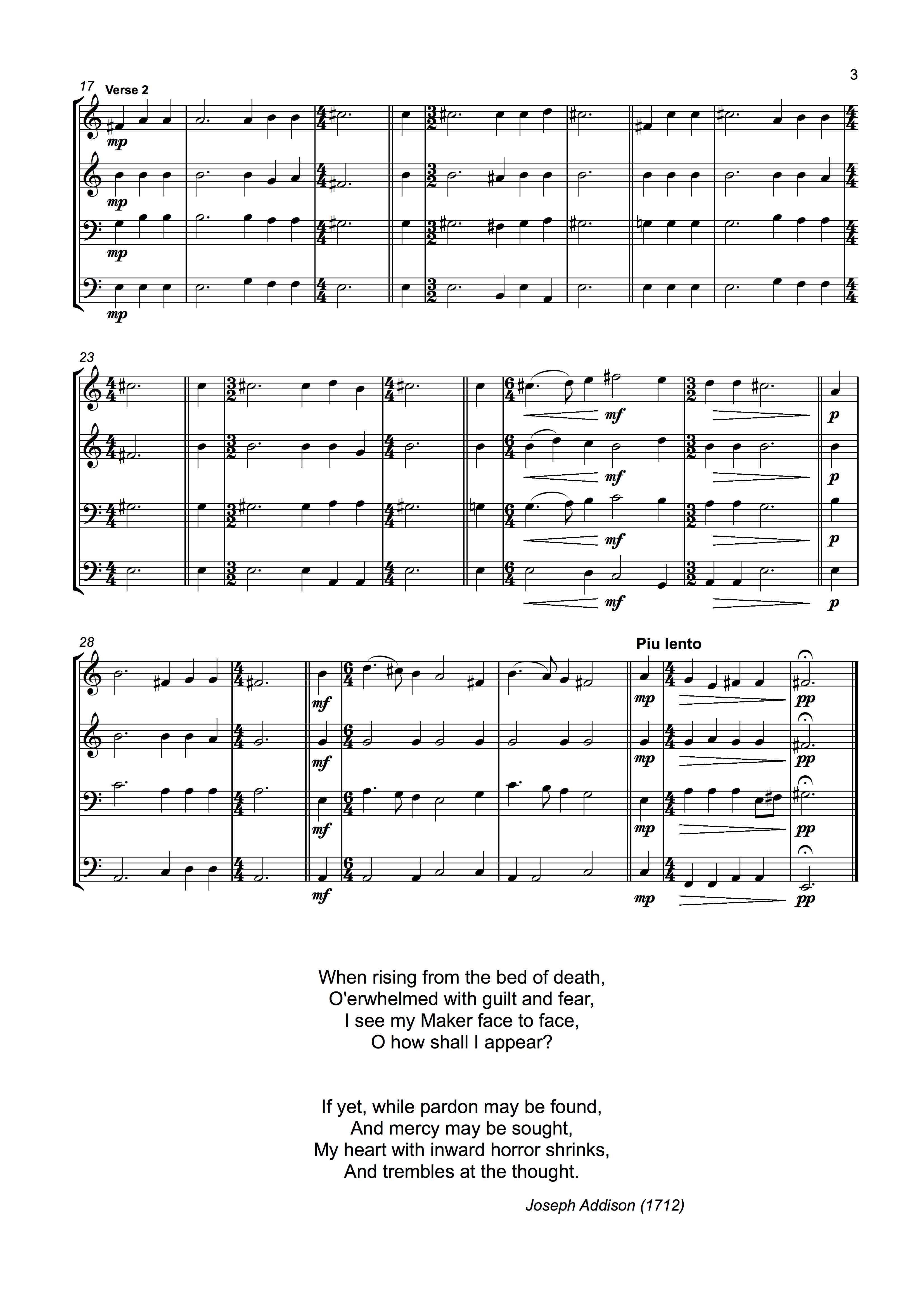 Tallis Hymn Tune - example page