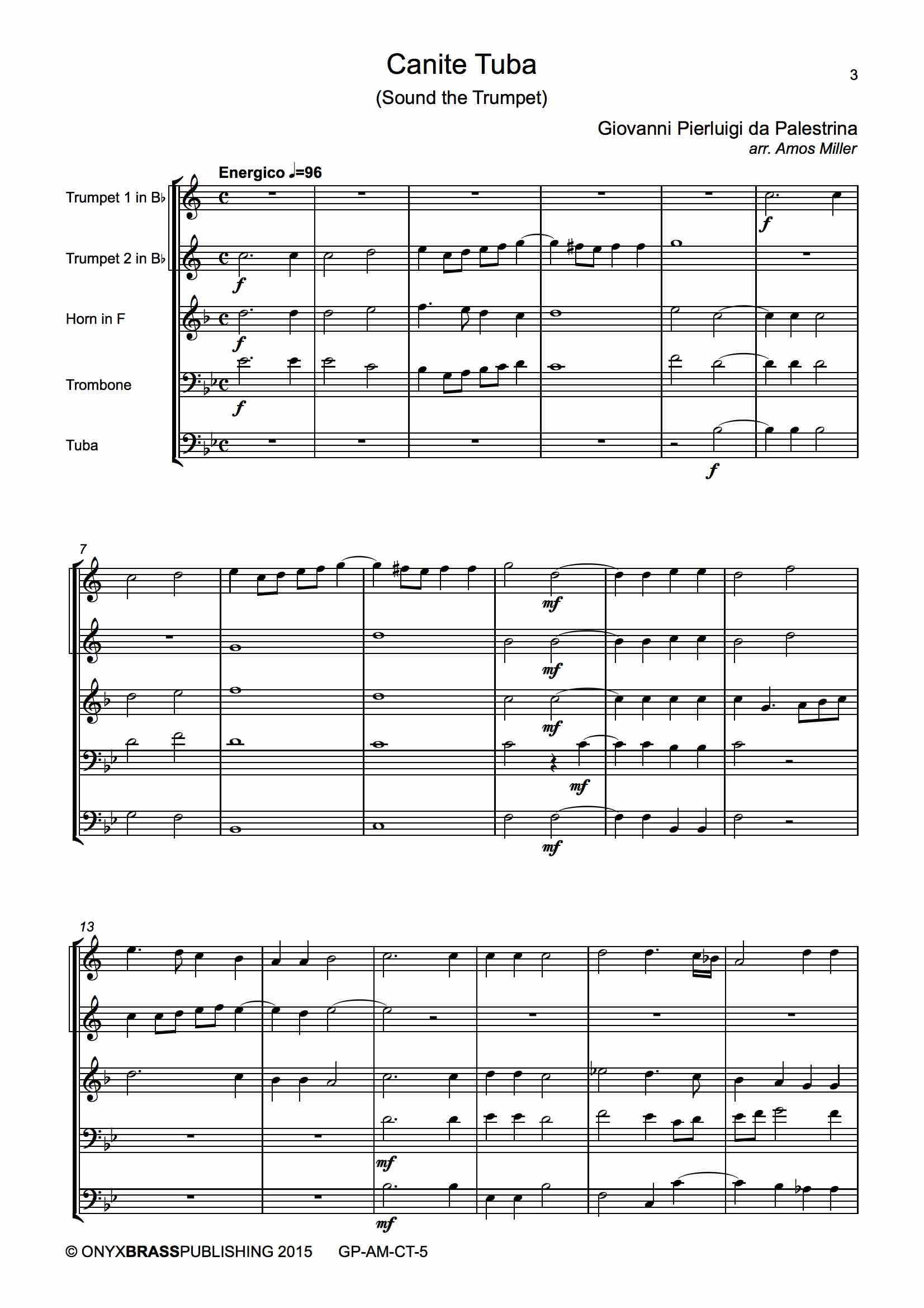 Canite Tuba - example page